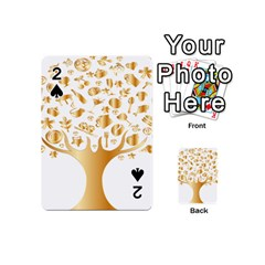 Abstract Book Floral Food Icons Playing Cards 54 (mini)