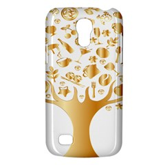 Abstract Book Floral Food Icons Galaxy S4 Mini by Nexatart