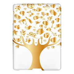 Abstract Book Floral Food Icons Samsung Galaxy Tab S (10 5 ) Hardshell Case  by Nexatart