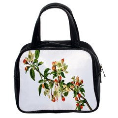 Apple Branch Deciduous Fruit Classic Handbags (2 Sides)