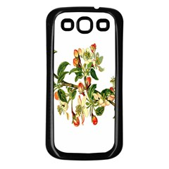 Apple Branch Deciduous Fruit Samsung Galaxy S3 Back Case (black)