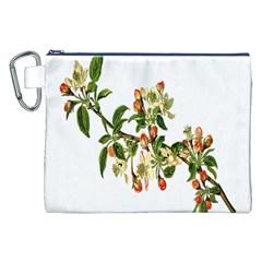 Apple Branch Deciduous Fruit Canvas Cosmetic Bag (xxl) by Nexatart