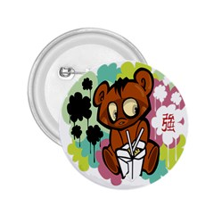 Bear Cute Baby Cartoon Chinese 2 25  Buttons