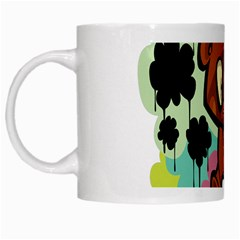 Bear Cute Baby Cartoon Chinese White Mugs