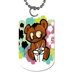 Bear Cute Baby Cartoon Chinese Dog Tag (two Sides)