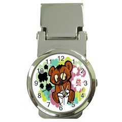 Bear Cute Baby Cartoon Chinese Money Clip Watches