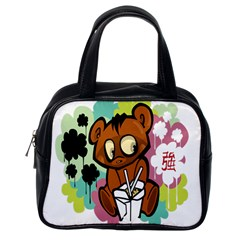 Bear Cute Baby Cartoon Chinese Classic Handbags (one Side)