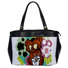 Bear Cute Baby Cartoon Chinese Office Handbags