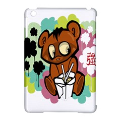 Bear Cute Baby Cartoon Chinese Apple Ipad Mini Hardshell Case (compatible With Smart Cover) by Nexatart