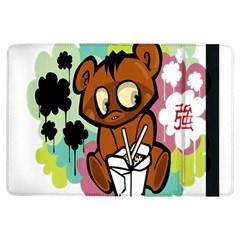 Bear Cute Baby Cartoon Chinese Ipad Air Flip