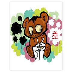 Bear Cute Baby Cartoon Chinese Drawstring Bag (large)