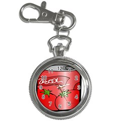 Beverage Can Drink Juice Tomato Key Chain Watches