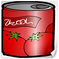 Beverage Can Drink Juice Tomato Canvas 20  X 20