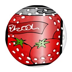 Beverage Can Drink Juice Tomato Ornament (round Filigree) by Nexatart