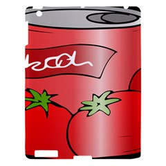 Beverage Can Drink Juice Tomato Apple Ipad 3/4 Hardshell Case