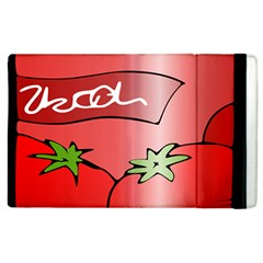 Beverage Can Drink Juice Tomato Apple Ipad 2 Flip Case by Nexatart