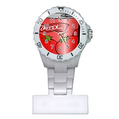 Beverage Can Drink Juice Tomato Plastic Nurses Watch