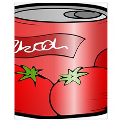 Beverage Can Drink Juice Tomato Drawstring Bag (small)