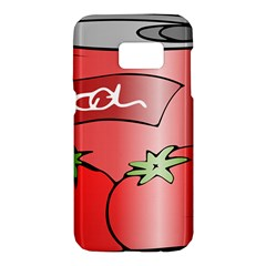 Beverage Can Drink Juice Tomato Samsung Galaxy S7 Hardshell Case