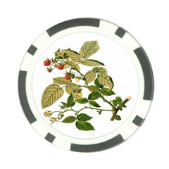 Berries Berry Food Fruit Herbal Poker Chip Card Guard