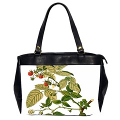 Berries Berry Food Fruit Herbal Office Handbags (2 Sides)  by Nexatart