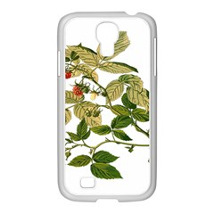Berries Berry Food Fruit Herbal Samsung Galaxy S4 I9500/ I9505 Case (white)