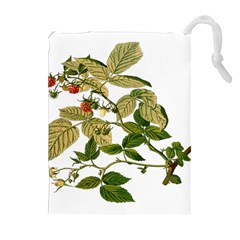 Berries Berry Food Fruit Herbal Drawstring Pouches (extra Large)