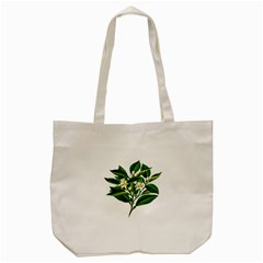 Bitter Branch Citrus Edible Floral Tote Bag (cream)