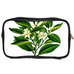 Bitter Branch Citrus Edible Floral Toiletries Bags 2 Side