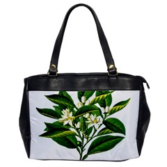 Bitter Branch Citrus Edible Floral Office Handbags by Nexatart