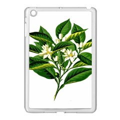 Bitter Branch Citrus Edible Floral Apple Ipad Mini Case (white) by Nexatart