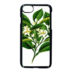 Bitter Branch Citrus Edible Floral Apple Iphone 7 Seamless Case (black)