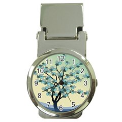 Branches Field Flora Forest Fruits Money Clip Watches by Nexatart