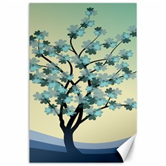 Branches Field Flora Forest Fruits Canvas 24  X 36  by Nexatart