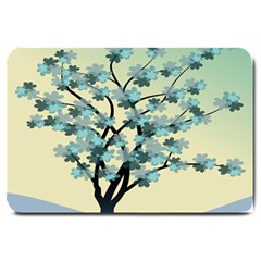 Branches Field Flora Forest Fruits Large Doormat  by Nexatart