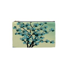 Branches Field Flora Forest Fruits Cosmetic Bag (small)  by Nexatart