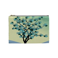 Branches Field Flora Forest Fruits Cosmetic Bag (medium)  by Nexatart