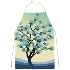 Branches Field Flora Forest Fruits Full Print Aprons