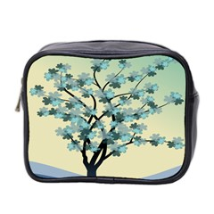 Branches Field Flora Forest Fruits Mini Toiletries Bag 2 Side by Nexatart
