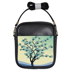 Branches Field Flora Forest Fruits Girls Sling Bags by Nexatart