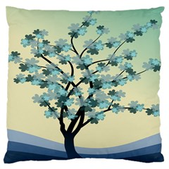Branches Field Flora Forest Fruits Large Cushion Case (one Side)