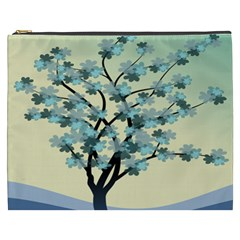Branches Field Flora Forest Fruits Cosmetic Bag (xxxl)