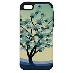 Branches Field Flora Forest Fruits Apple Iphone 5 Hardshell Case (pc+silicone) by Nexatart