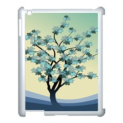 Branches Field Flora Forest Fruits Apple Ipad 3/4 Case (white)