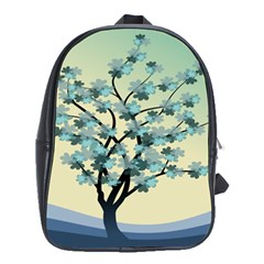 Branches Field Flora Forest Fruits School Bags (xl)