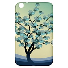 Branches Field Flora Forest Fruits Samsung Galaxy Tab 3 (8 ) T3100 Hardshell Case