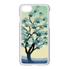 Branches Field Flora Forest Fruits Apple Iphone 7 Seamless Case (white) by Nexatart