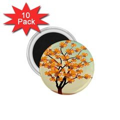 Branches Field Flora Forest Fruits 1 75  Magnets (10 Pack)  by Nexatart