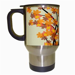 Branches Field Flora Forest Fruits Travel Mugs (white)