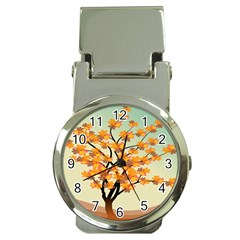 Branches Field Flora Forest Fruits Money Clip Watches
